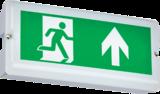 Knightsbridge 230V IP65 3W LED Emergency Bulkhead (Maintained/Non-Maintained)