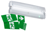 Knightsbridge 230V IP65 3W LED Emergency Bulkhead