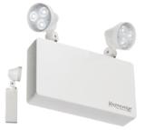 Knightsbridge 230V IP20 6W LED Twin Spot Emergency Light