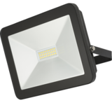 Knightsbridge 230V IP65 100W LED Black Die-Cast Aluminium Floodlight 4000K
