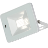 Knightsbridge 230V IP65 20W LED White Floodlight with Microwave Sensor 4000K