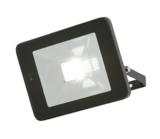 Knightsbridge 230V 30W LED Black Die-Cast Aluminium Floodlight Microwave Sensor