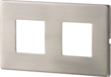 Knightsbridge S/S Recessed LED Wall Light - Twin White