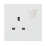 Knightsbridge 13A 1G SP Switched Socket