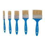 Silverline  314733 Disposable Paint Brush Set 5pce