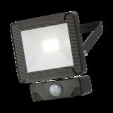 Knightsbridge 230V IP65 10W LED Floodlight with PIR Sensor 4000K