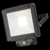 Knightsbridge 230V IP65 30W LED Floodlight with PIR Sensor 4000K