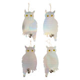 Fixman  894736 Bird Repellent Owls 4pk