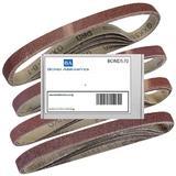20 Bond Sanding Belts for Silverline 247820 260W Power Belt File 13mm Mixed Grit