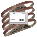 20 Bond Sanding Belts for Silverline 247820 260W Power Belt File 13mm 60 Grit