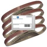 20 Bond Sanding Belts for the Mac Allister MSMBS400 457mm Belt Sander 60 Grit