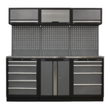 Sealey APMSSTACK05SS Modular Storage System Combo Stainless Steel Worktop