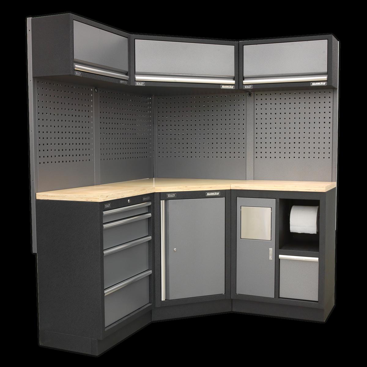 Sealey APMSSTACK06W Modular Storage System Corner Combo