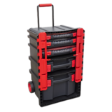 Sealey AP860 Professional Trail Box with 5 Tool Storage Cases