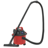 Sealey PC102 Vacuum Cleaner Wet & Dry 10ltr 1000W/230V