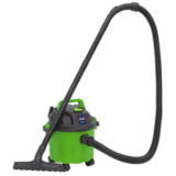 Sealey PC102HV Vacuum Cleaner Wet & Dry 10ltr 1000W/230V Hi-Vis Green