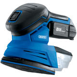 Draper 00608 D20 20V Tri-Base (Detail) Sander with 2Ah Battery and Charger