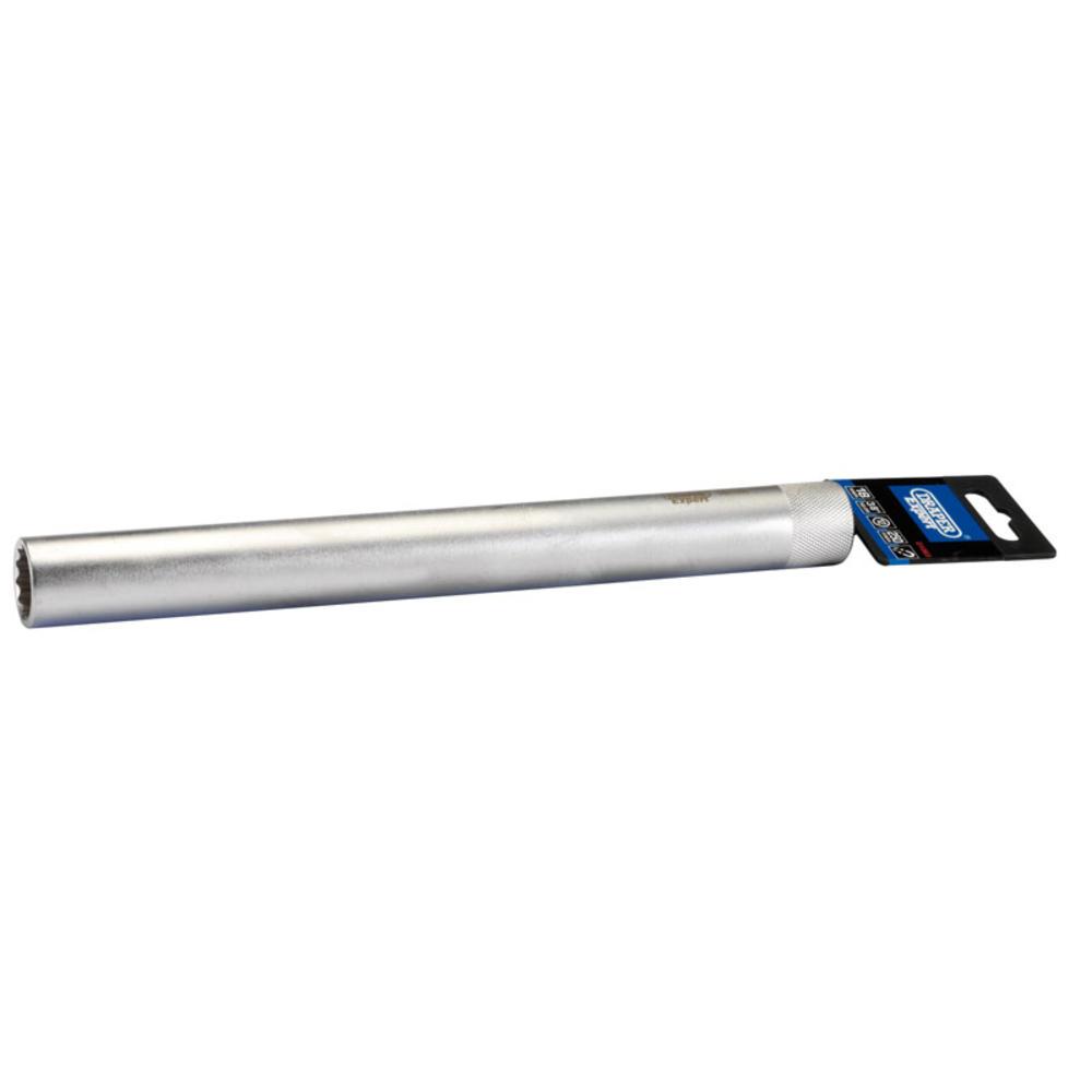 Draper 01065 250mm Spark Plug Socket (18mm)