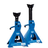 Draper 01813 Pair of Pneumatic Rise Ratcheting Axle Stands (3 tonne)