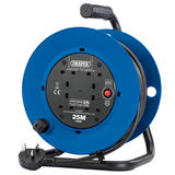Draper 02121 230V Four Socket Industrial Cable Reel (25M)