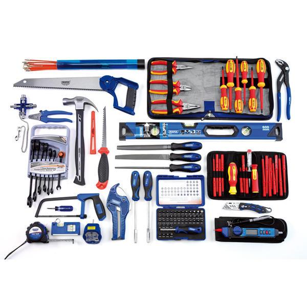 Draper 04319 Electricians Tote Bag Tool Kit