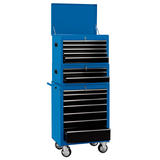 "Draper 04593 26"" Combination Roller Cabinet and Tool Chest (15 Drawer)"