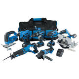 Draper 07025 Storm Force® 20V 7 Machine Cordless Kit (12 Piece)