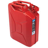 Draper 07568 20L Steel Fuel Can (Red)