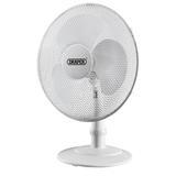 """Draper 09111 Desk Fan 16"""" (400mm)"""