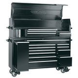 "Draper 11174 72"" Combined Roller Cabinet and Tool Chest (15 Drawer)"