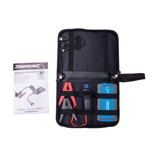 Silverline 684786 12V Lithium Jump Starter & Powerbank Thumbnail 4