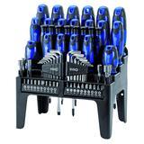 Draper 67093 864/69/B Screwdriver, Bit and Hex Key Set (69 Piece) Blue