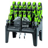 Draper 67112 864/69/G Screwdriver, Bit and Hex Key Set (69 Piece) Green