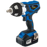 Draper 82983 CIW20LISF 20V Cordless Impact Wrench with 2 Li-ion Batteries 3.0Ah