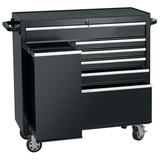 "Draper 14546 42"" Roller Tool Cabinet With Side Locker (6 Drawer)"