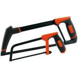 Draper 41326 Hacksaw and Junior Hacksaw Set (Orange)