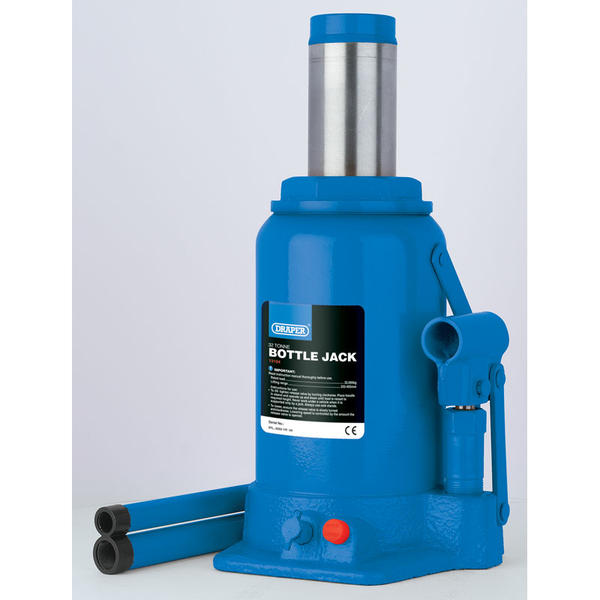 Draper 13070 Hydraulic Bottle Jack (8Tonne) Thumbnail 2