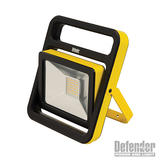 Defender E206011 Slimline LED Floodlight 110V 20W 4000k Cool White