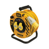 Defender E86455 Cable Reel 25m 2 Way 110V