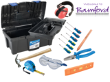 BAM 127 Silverline Kids First Toolkit Junior Toolkit, With Pink Ear Defenders