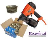 Tacwise FCN57V Coil Nailer 57mm Air Nail Gun