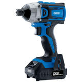 "Draper 86958 D20 20V Brushless 1/4"" Impact Driver with  Batteries & Charger"
