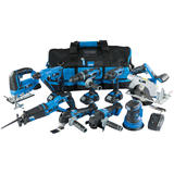 Draper 17763 Storm Force® 20V 9 Machine Cordless Kit (14 Piece)