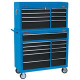 "Draper 17764 40"" Combined Roller Cabinet and Tool Chest (19 Drawer)"