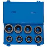 "Draper 83272 3/4"" Sq. Dr. Metric Impact Socket Set in Metal Case (8 Piece)"