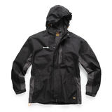 Scruffs T54858 Worker Jacket Black and Graphite Large Waterproof Lightweight
