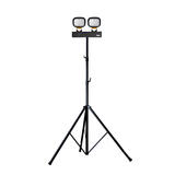 Defender E705630 LED6000S Twin Head Floodlight With Swing Leg Tripod 110V 84W