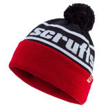 Scruffs T54306 Vintage Bobble Hat Black and Red One Size Warm Thermal