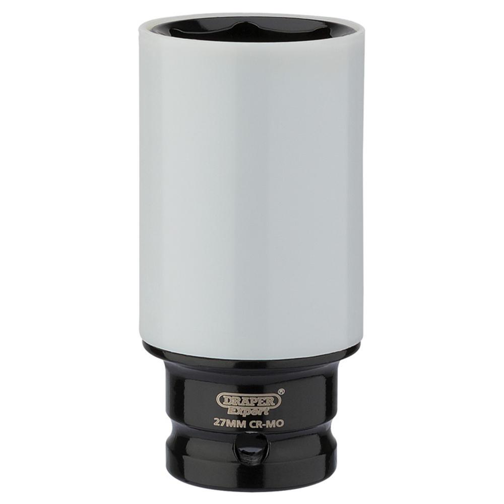 "Draper 83061 1/2"" Sq. Dr. HI-TORQ® Wheel Nut Socket for Alloy Wheels (27mm)"