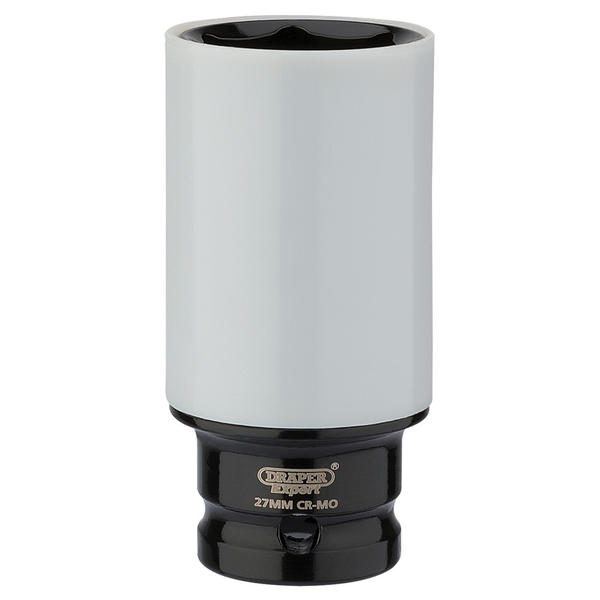 "Draper 83061 1/2"" Sq. Dr. HI-TORQ® Wheel Nut Socket for Alloy Wheels (27mm) Thumbnail 1"